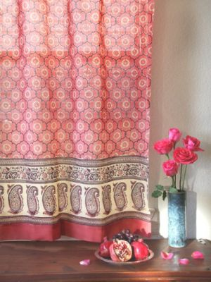 Inspiring photos - Asiam style - pink red sari fabric decor ideas.jpg